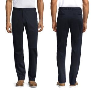 NWT Men's Theory Semi Tech Black Pants Size 33